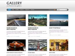 gallery wordpress theme wordpress personal blog theme
