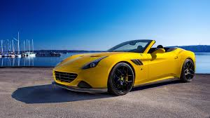 convertible ferrari yellow ferrari convertible wallpaper 20644 3840x2160 umad com