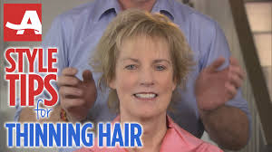 good haircuts for women with thinning hair on top and best ideas