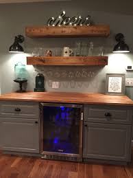 Wall Bar Ideas by Giving Your House Character With Different Penny Tile Designs