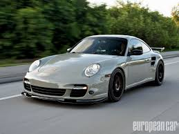 grey porsche 911 turbo werks one porsche 911 turbo european car magazine