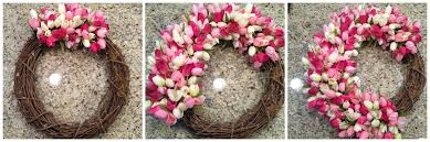 tulip wreath project tulip wreath diy from the family with