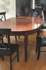 Black Wooden Dining Table And Chairs Painted Dining Table Finally The Golden Sycamore