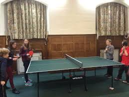 Table Tennis Meeting Table Youth Club Bathwick Parishes
