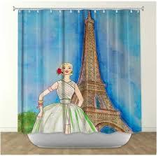 Paris Bathroom Rug 13 Best Floral Shower Curtains Images On Pinterest Bathroom