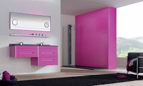 Decorating Bathroom Walls Ideas by Best 50 Pink And Black Bathroom Decorating Ideas Inspiration