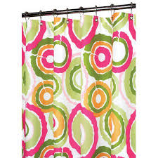 Circles Shower Curtain Watershed Groovy Circles Shower Curtain Walmart