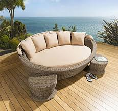 round outdoor daybeds outdoor furniture