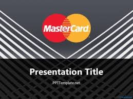 design logo ppt mastercard with logo ppt template
