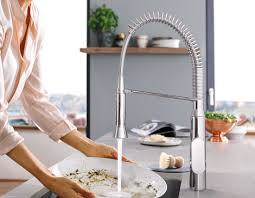 grohe k7 kitchen faucet grohe footcontrol kitchen faucets for your kitchen