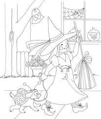 cute costume halloween coloring pages printable preschoolers
