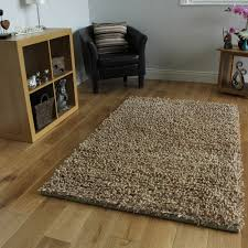 Thick Pile Rug Brown Mix Spaghetti Strand Shaggy Rugs Cheap Thick Pile Soft Mats