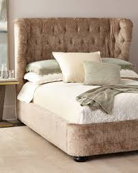 Tufted Bed Queen Handcrafted Tufted Bed Horchow Com