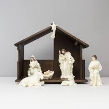 belleek nativity set the store