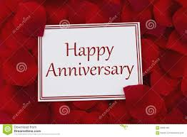 anniversary cards for happy anniversary card stock photo image 60681467