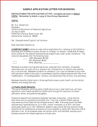 awesome application letter sample pdf type of resume