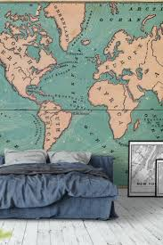 33 best map wall murals images on pinterest photo wallpaper world map retro wall mural wallpaper