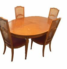 thomasville dining room chairs 1965 thomasville dining table and chairs ebth