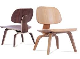 eames molded plywood lcw chair platinum replica