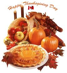 i wish all my canadian friends a happy thanksgiving day