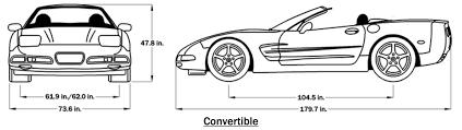 c5 corvette dimensions 2002 c5 corvette guide overview specs vin info