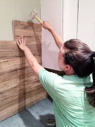 How To Remove Adhesive From Laminate Flooring Laminate Flooring Backsplash It Looks Like Wood Bower Power