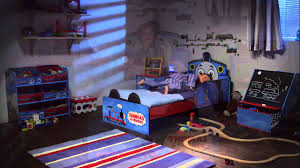 Thomas The Tank Engine Bed Hellohome Thomas The Tank Engine Snuggletime Toddler Bed Youtube