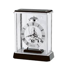 Unique Desk Clocks by Decor Astonishing Bulova Mantel Clock For Home Decoration Ideas