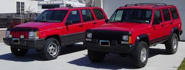 red jeep cherokee red jeep club lifted red jeep pictures bumper hoop grille guards