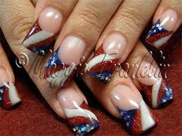 10 amazing fourth of july acrylic nail art designs ideas