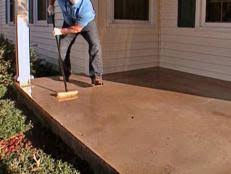 how to paint a concrete floor how tos diy