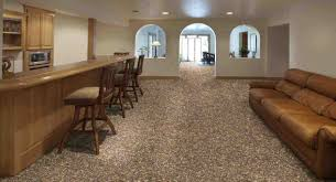 Can You Put Ceramic Tile On Concrete Basement Floor Basement Best Basement Flooring Ideas For Basement Inspiration