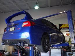 invidia q300 lexus 2015 sti with invidia q300 catback exhaust system vfr auto blog