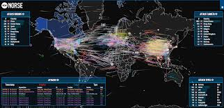 watch the web get hacked in real time on this mesmerizing map