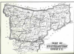 Map Of Pennsylvania by History Of Northampton County Pennsylvania Illustrated 1884