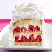 raspberry lemon layer cake recipe taste of home