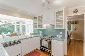 cottage kitchens ideas cottage kitchen with raised panel flat panel cabinets in