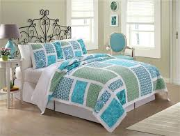 blue quilts bedding delectably yours caledon blue yellow patchwork