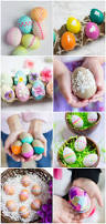 Decorating Easter Eggs With Lace by Gorgeous Diy Floral Easter Eggs Design Improvised