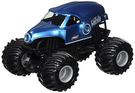 monster jam truck amazon com wheels monster jam nea blue truck toys u0026 games