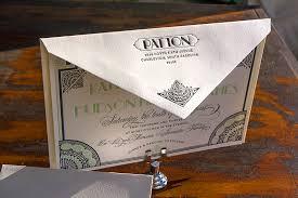 great gatsby wedding invitations gatsby inspired wedding invitations