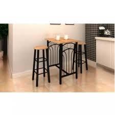 cuisine table haute table haute de bar et 2 tabourets achat vente table