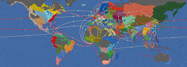 Map Route Maker by Map Of Trade Nodes Toward The English Channel This Is My Attempt