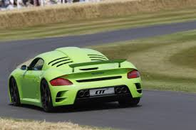 porsche ruf ctr3 ruf ctr3 blasts up goodwood hillclimb autocar