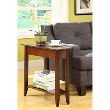 recliner side table wedge including convenience concepts leick