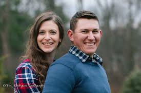 canton ma engagement photo shoot at a private christmas tree farm