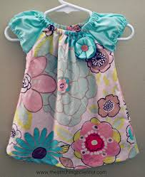 the baby dress 6 9 months free pattern and tutorial free sewing