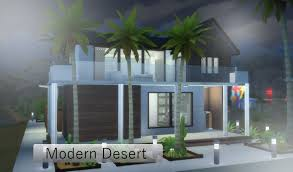 the sims 4 house build modern desert youtube