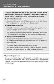 toyota highlander 2010 manual 2010 toyota highlander maintenance pdf manual 6 pages