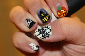 scary eyeball nail art best nail 2017 50 halloween nail art ideas